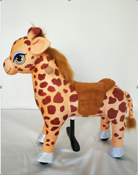 Lovely walking mechanical Deer for mall and playground, Plush toy riding Animal Deer