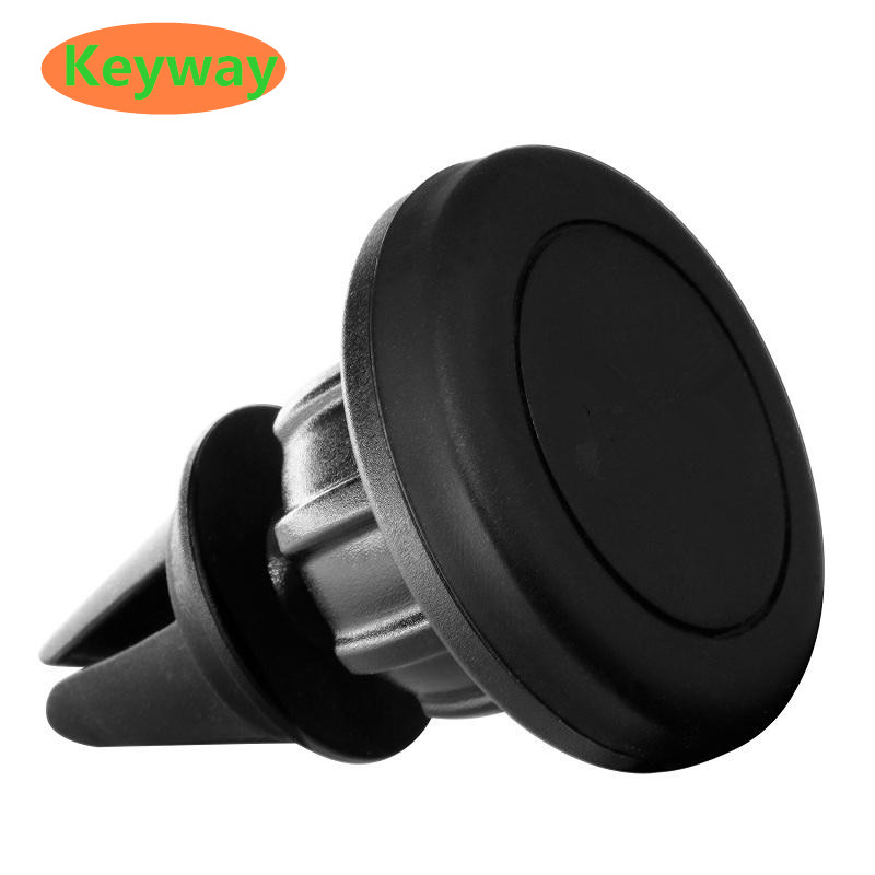 Factory Price 2017 Universal 360 degree Mini Magnetic Silicone Car Air Vent Mount Cell Phone Holder