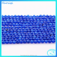 HSQ-0589b Natural faceted dyed jade beads for jewelry making for wholesale