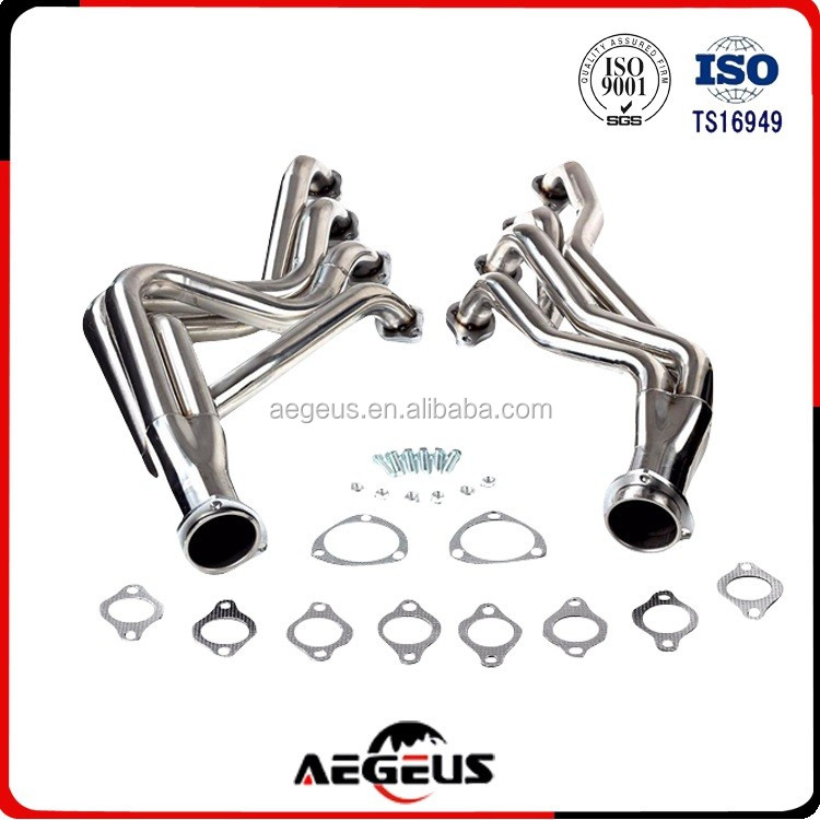 Chevelle Camaro Heavy Duty Headers Silver coated For 68-72 BBC Chevy 396 427