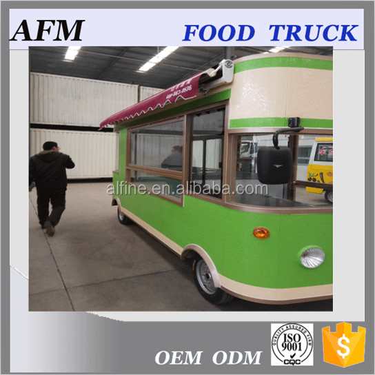 New arrival Durable food cart mobile food truck