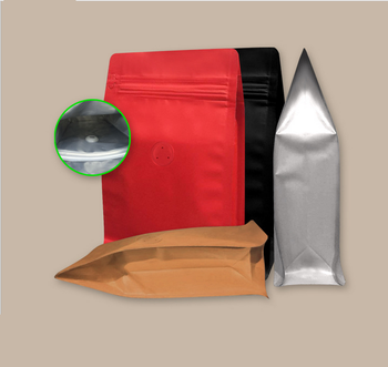 Side Gusset Coffee Bean Packaging Bags with Valve