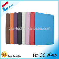 Alibaba in russian pu leather hard back cover for iPad plain case for iPad