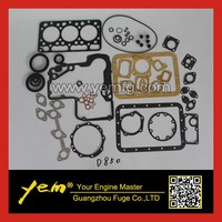 D850 full gasket set for Kubota engine