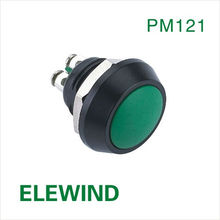 ELEWIND 12mm push button micro switch led(PM121B-10,12mm,Domed head,IP65,ROHS)