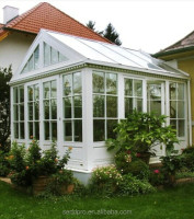 sunroom aluminum Garden Sunroom with Laminated Glass and Tempered Insulated Glass