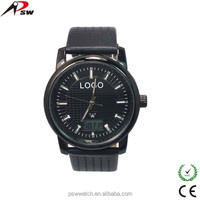 Custom waterproof solar power watch sport wristwatch for men watch from watch factory