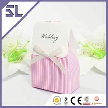 Gift Bag With Ribbon Gift Boxes Baby Shower Manufacturer Luxury Wedding Invitation Box Chinese Wedding Favors Box