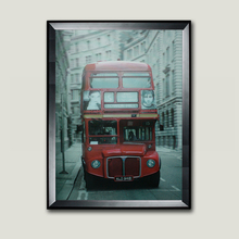 3D London red bus lenticular home decor wall picture framed wall art