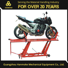 factory offer used manual hydraulic motorcycle lift