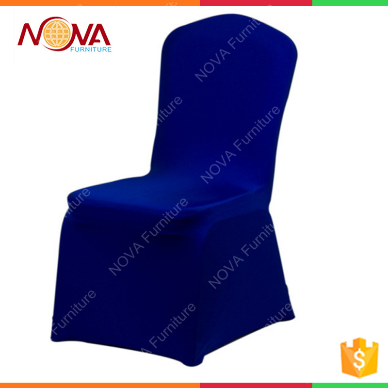 Hotel chair banquet chair use and taffeta satin fabric organza lycra luxury 100%polypropylene material spunbond kint chair cover