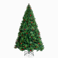 7feet Artificial Christmas Tree with Decorative berry
