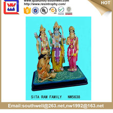 hot sale custom polyresin wholesale polyresin figurine , 3d hindu god idols
