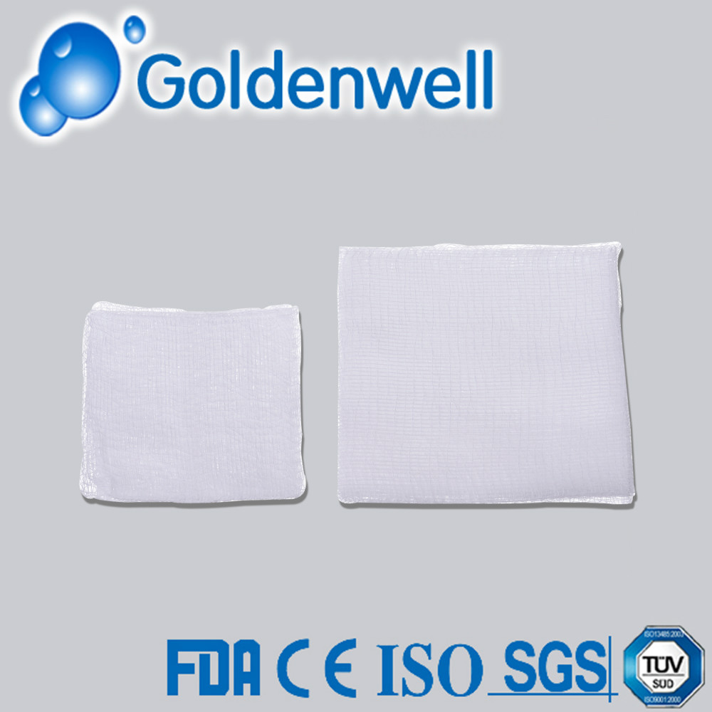 Disposable Approved Sterile Absorbent Gauze Swab
