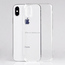 DFIFAN New Arrival Reinforced Corners Protective Mobile <strong>Cases</strong> for iphone X , Slip-proof Clear Smooth Phone <strong>Case</strong> for iphone X
