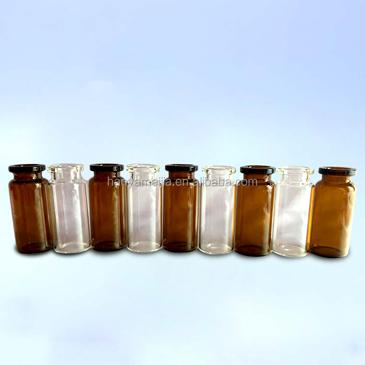 Wholesale hanya amber Glass Vials with any size