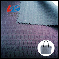 Polyester Jacquard Woven Fabric With PU/PVC Coating For Bags/Luggages/Shoes/Tent/Garment Using