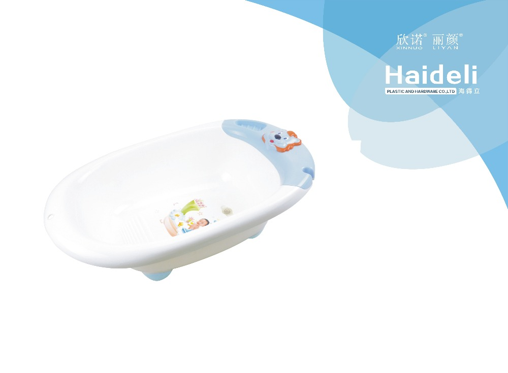 Hot sale standing baby bathtub round plastic baby bathtubs,factory price