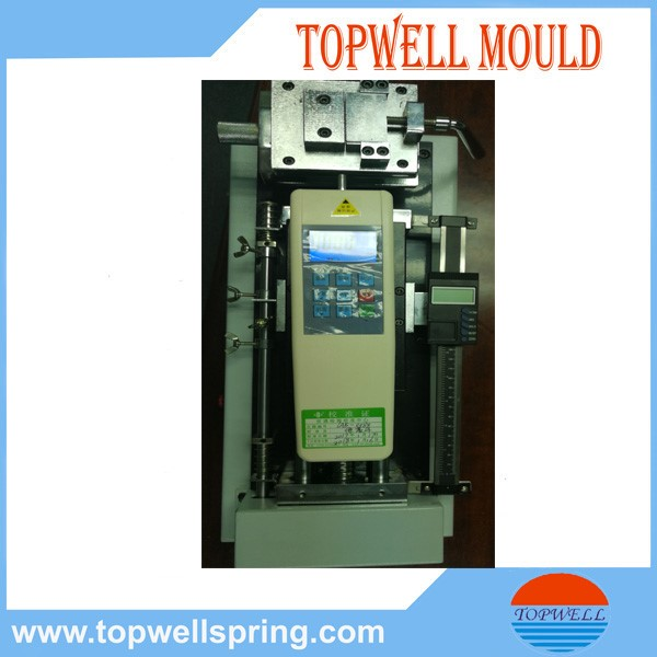 Switch Travel Testing and Testing Machine Making for China Mold Maker