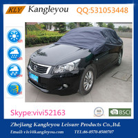 Waterproof UV protection blue Polyester Material Top Car Cover Half Car Cover