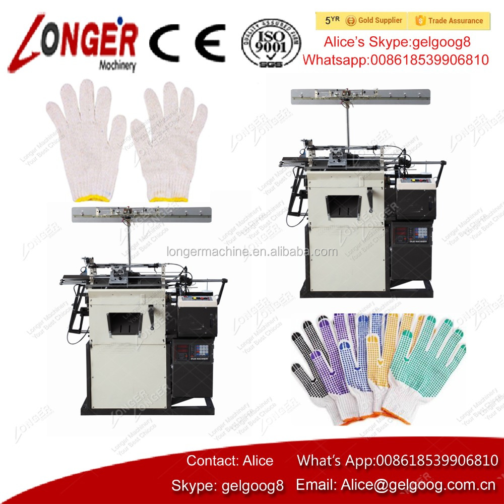 Automatic Safety Hand Cotton Glove Knitting Machine Price