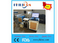 FIBER 20w laser marking machine on metal.