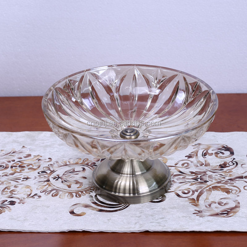 New product unique design european antique fruit plate bowl for sale