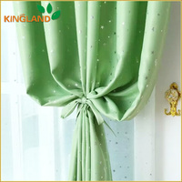 Hot Sales Printed Colorful Window Luxury Fabric Curtain And Drapes