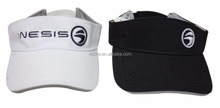 Custom cheap advertising 100% cotton sport flex-fit visor