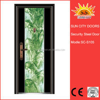 Latest design outside door steel doors SC-S105