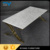 Gold leaf furniture high gloss coffee table glass center table with marble top for home CJ028