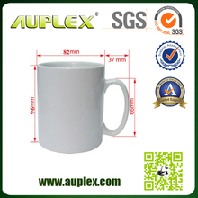 13 Years Factory Supply 11 oz Super White Blank Sublimation Christmas Mug from China (M001-1)