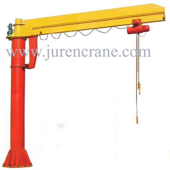 Motor Driven Pillar Mounted Jib Crane