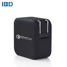 us plug dual mini usb wall charger adaptor quick charge 3.0 super fast charging for Mobile Phone Digital Products