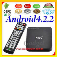 AML8726 azBox premium hd cable Android TV Box with sim card and MX TV Box