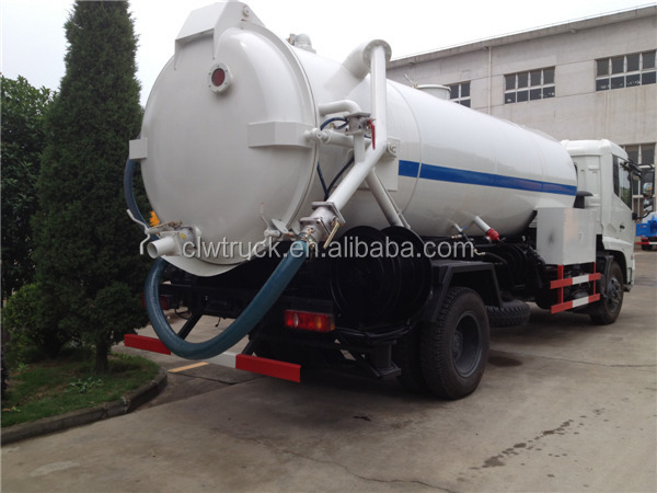 Cbm Cleaning Services : Dongfeng tianjin cbm cleaning vacuum suction