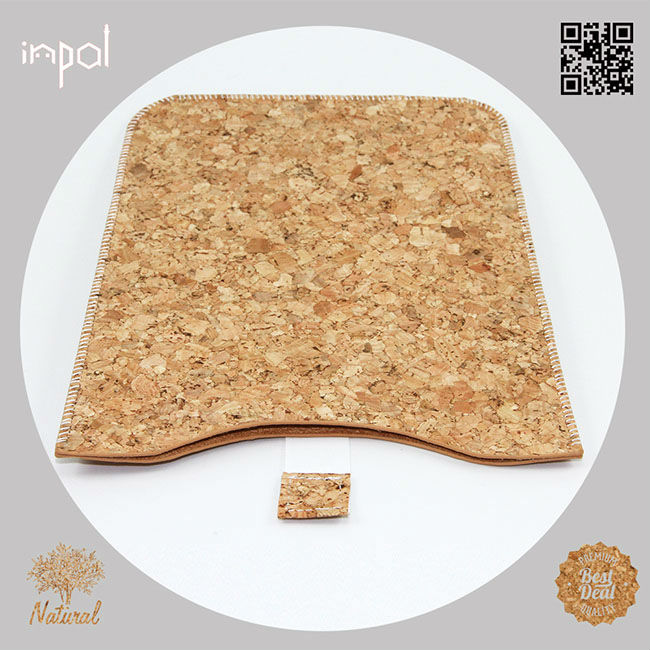 Brand new original soft feeling natural fabric cork smart cover for ipad mini by case manufacturing company