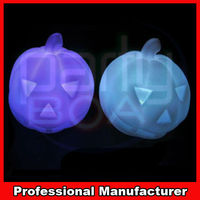 solar halloween pumpkin light