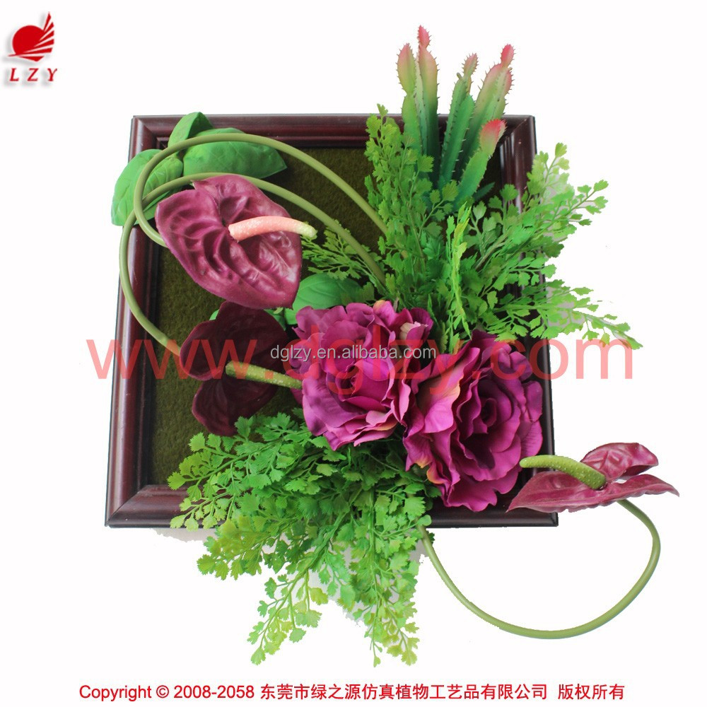creative wall art home decoration artificial flower for wall