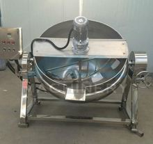 200 Liter Industrial Electric Kettle Cooker