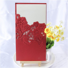 high-end with good price high end wedding favor card
