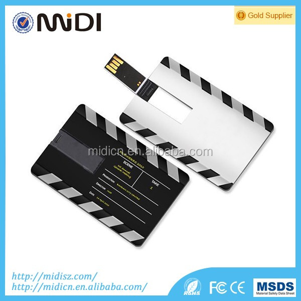 Business Gift Credit Card shape USB flash drive for computers