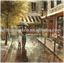Romantic Stroll for reproduction oil painting by printing
