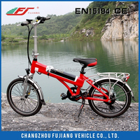 20inch electric bicycle two wheels conversion kit china with EN15194