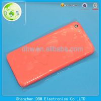 China wholesale back cover housing replacement for iphone 5c
