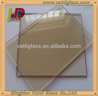 high temperature and fire rated ceramic glass for fireplace doors