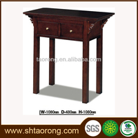 Factory direct living room antique wooden corner table designs