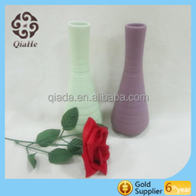 Garden ceramic flower pot with many color