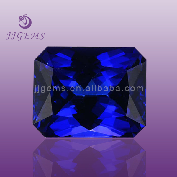 tanzanite rough /synthetic tanzanite
