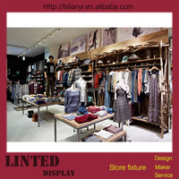 Utility chinese clothing online shop display